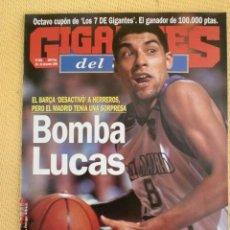 Coleccionismo deportivo: GIGANTES BASKET 685 - DICIEMBRE 1998. Lote 39882835