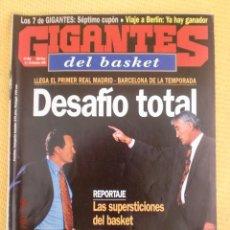 Coleccionismo deportivo: GIGANTES BASKET 684 - DICIEMBRE 1998. Lote 39882927