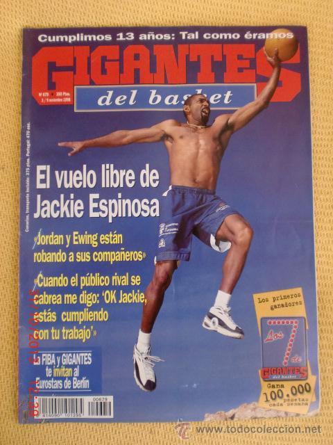 GIGANTES BASKET 679 - NOVIEMBRE 1998 (Coleccionismo Deportivo - Revistas y Periódicos - otros Deportes)