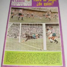 Coleccionismo deportivo: ANTIGUA REVISTA DEL REAL MADRID - MAYO - 1972 - Nº 264 - MIDE 31X21,5 CMS - DEPORTE - 28 PAG. APROX . Lote 38240598