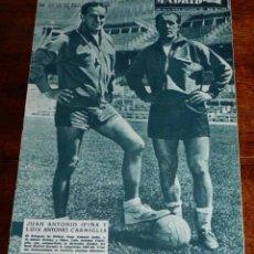 Coleccionismo deportivo: REVISTA DEL REAL MADRID Nº 86 - SEPTIEMBRE 1957 - 32 PAGINAS - MIDE 31 X 22 CMS. EXCELENTE ESTADO DE. Lote 38259841
