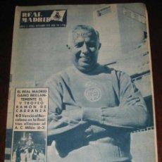 Coleccionismo deportivo: REVISTA DEL REAL MADRID Nº 110 - SEPTIEMBRE 1959 - 32 PAGINAS - MIDE 31 X 22 CMS. EXCELENTE ESTADO D. Lote 38259847