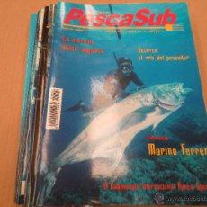 Coleccionismo deportivo: PESCASUB. 12 NUMEROS. Lote 40328762