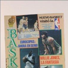 Coleccionismo deportivo: REVISTA NUEVO BASKET - Nº 139 DICIEMBRE 1985 - JONES - BALONCESTO - POSTER LLORENTE CAI ZARAGOZA. Lote 40569894