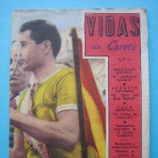 Coleccionismo deportivo: VIDAS SIN CARETA Nº 5 - ALOMAR - NAVARRO - DEMPSEY - 48 PAGS. CON NUMEROSAS ILUSTRACIONES. Lote 41168310