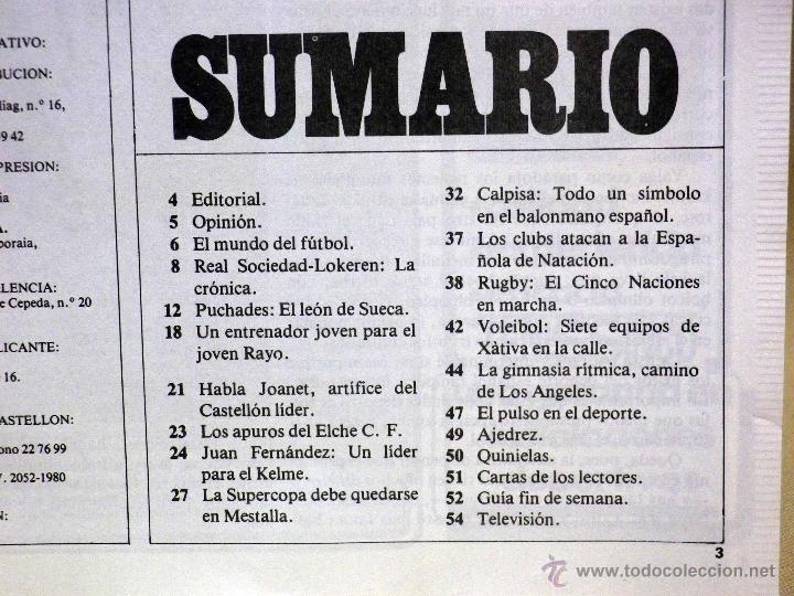 Coleccionismo deportivo: REVISTA DE DEPORTES, CERO A CERO, Nº 6, DICIEMBRE 1980 - Foto 2 - 41375379