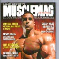 5ab98b6eef9 MUSCLEMAG Nº 223   LA VOZ INDEPENDIENTE DEL CULTURISMO   ROBERT KENNEDY S · Coleccionismo  Deportivo - Revistas ...