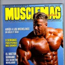 9a2db8d8e90 MUSCLEMAG Nº 195   LA VOZ INDEPENDIENTE DEL CULTURISMO + GUIA NUTRICION    ROBERT KENNEDY S · Coleccionismo Deportivo - Revistas ...