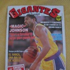 Coleccionismo deportivo: REVISTA GIGANTES DEL BASKET. Nº 166 ENERO 1989. Lote 41588108
