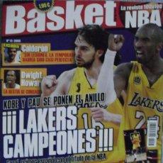 Coleccionismo deportivo: KOBE BRYANT - REVISTA ''BASKET LIFE'' - PRIMER ANILLO DE PAU GASOL (2009) - NBA. Lote 41611146