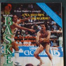 Coleccionismo deportivo: 119 REVISTA BALONCESTO NUEVO BASKET 1984 REAL MADRID CAMPEON RECOPA EUROPA. Lote 41639687