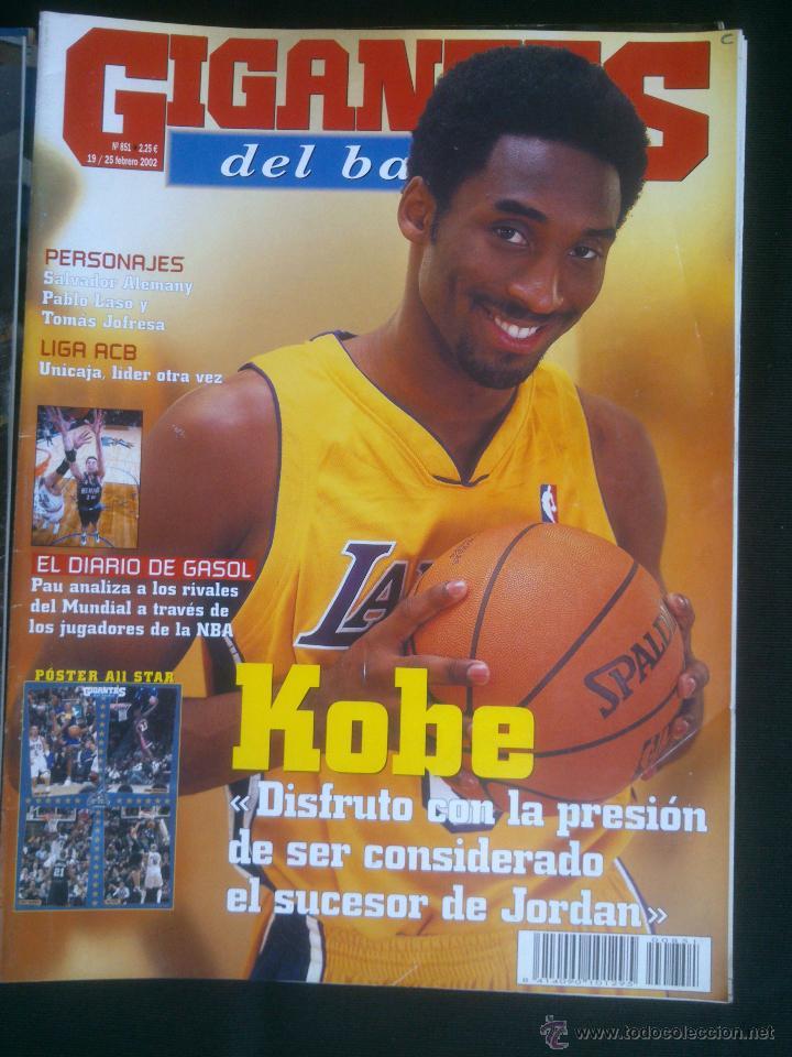Coleccionismo deportivo: REVISTA GIGANTES DEL BASKET BALONCESTO.LOTE DE 15 REVISTAS ,AÑO 2001 - Foto 9 - 41942057
