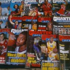 Coleccionismo deportivo: REVISTA GIGANTES DEL BASKET BALONCESTO.LOTE DE 15 REVISTAS ,AÑO 1999. Lote 41943041