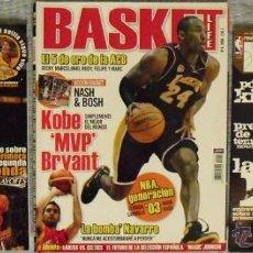 Coleccionismo deportivo: KOBE BRYANT - LOTE DE REVISTAS ''GIGANTES'' Y ''REVISTA OFICIAL NBA'' + DOS PÓSTERS DESPLEGABLES. Lote 41611005