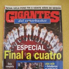Collectionnisme sportif: GIGANTES DEL BASKET. NO. 493 - ABRIL - 1995 . Lote 42258882