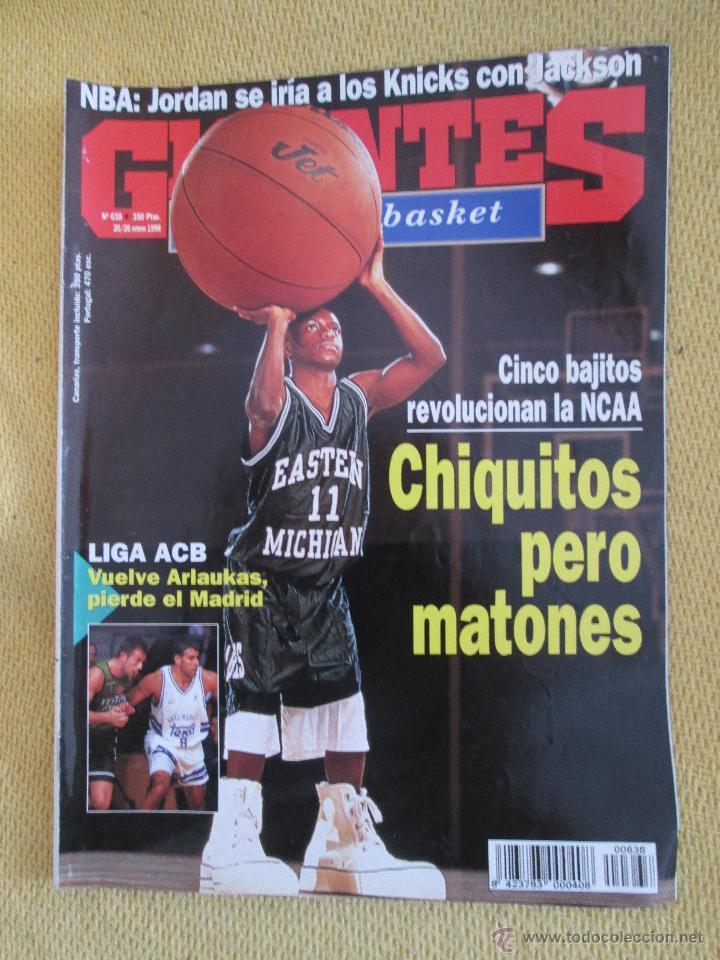 GIGANTES DEL BASKET. NO. 638 - ENERO - 1998 (Coleccionismo Deportivo - Revistas y Periódicos - otros Deportes)