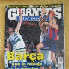 Coleccionismo deportivo: GIGANTES DEL BASKET. NO. 797 - FEBRERO - 2001 . Lote 42321263
