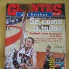 Coleccionismo deportivo: GIGANTES DEL BASKET. NO. 841 - DICIEMBRE - 2001 . Lote 42321324