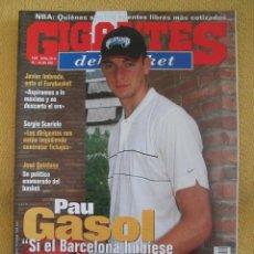 Coleccionismo deportivo: GIGANTES DEL BASKET. NO. 819 - JULIO - 2001. Lote 42321521