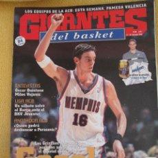 Coleccionismo deportivo: GIGANTES DEL BASKET. NO. 894 - DICIEMBRE - 2002. Lote 42327255