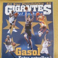 Coleccionismo deportivo: GIGANTES DEL BASKET. NO. 849 - FEBRERO - 2002. Lote 42329086