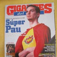 Coleccionismo deportivo: GIGANTES DEL BASKET. NO. 853 - MARZO - 2002. Lote 42333678