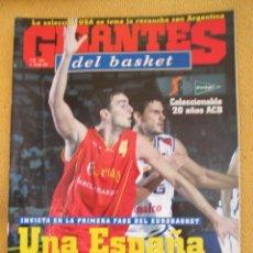 Coleccionismo deportivo: GIGANTES DEL BASKET. NO. 932 - SEPTIEMBRE - 2003 . Lote 42369501