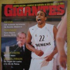 Coleccionismo deportivo: GIGANTES DEL BASKET. NO. 1056 - ENERO - 2006. Lote 42480659