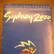 Coleccionismo deportivo: SIDNEY 2000. EL PAIS. 19 LAMINAS DEDICADAS A CADA CATEGORIA OLIMPICA. SYDNEY 2000. Lote 42482078