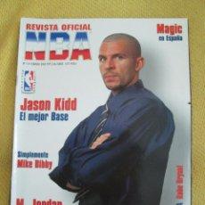 Coleccionismo deportivo: REVISTA OFICIAL NBA Nº 114 -2002 - KIDD. Lote 42518119