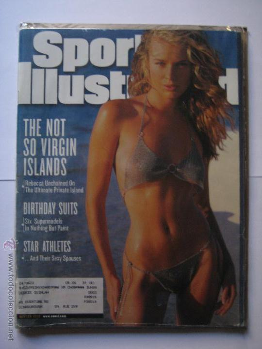 Coleccionismo deportivo: SPORTS ILLUSTRATED WINTER 1999 - REBECCA ROMJIN - Foto 1 - 42669994