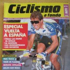 Coleccionismo deportivo: REVISTA CICLISMO A FONDO N º 99 MAYO 1993 . Lote 42844782