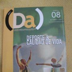 Coleccionismo deportivo: DA REVISTA SOBRE DEPORTE EN ANDALUCIA 8 NOVIEMBRE 2002. Lote 42848011