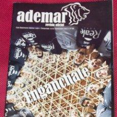Coleccionismo deportivo: REVISTA OFICIAL ADEMAR - CLUB BALONMANO ADEMAR - LEON - TEMPORADA 11/12 - SEPTIEMBRE 2011 - Nº 68. Lote 43531439