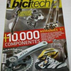 Coleccionismo deportivo: REVISTA GUIA BICITECH Nº 14 - CARBONO 10.000 COMPONENTES - BICI TECH - 2ª UN. Lote 43720089