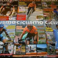 Coleccionismo deportivo: LOTE DE 6 REVISTAS - REVISTA CICLISMO EN RUTA Nº 33, 34, 35, 37, 41, 43. Lote 43722590