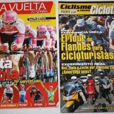 Coleccionismo deportivo: LOTE DE 2 REVISTAS CICLISMO A FONDO SUPLEMENTO 310 GUIA VUELTA A ESPAÑA Y ESPECIAL CICLOTURISMO 19. Lote 43723190