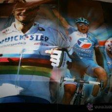 Coleccionismo deportivo: POSTER GIGANTE DE CICLISMO - TIME - 98 X 68 CM. Lote 43723342