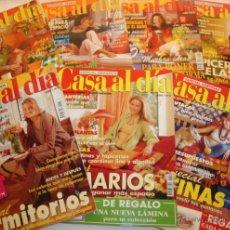 Coleccionismo deportivo: LOTE DE 7 REVISTAS - CASA AL DIA Nº 1, 2, 3, 4, 5, 6 Y 7. Lote 43724360