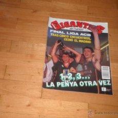 Coleccionismo deportivo: BALONCESTO.REVISTA. GIGANTES DEL BASKET. Nº343 JUNIO 1992. Lote 43755704