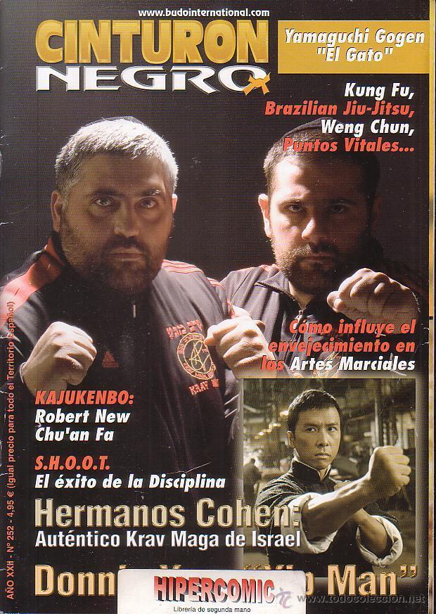 REVISTA ARTES MARCIALES, CINTURON NEGRO Nº 252 (Coleccionismo Deportivo - Revistas y Periódicos - otros Deportes)