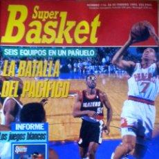 Coleccionismo deportivo: REVISTA BALONCESTO SUPERBASKET 116 POSTER SCOTTIE PIPPEN. Lote 44031697