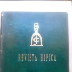 Coleccionismo deportivo: REVISTA HIPICA DEL CLUB DE JINETES. TODAS LAS EDITADAS EN 1970. Lote 44345987