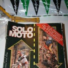 Coleccionismo deportivo: REVISTA DEPORTIVA MOTOCICLISMO SOLO MOTO NUM 271 (1981). Lote 44398177
