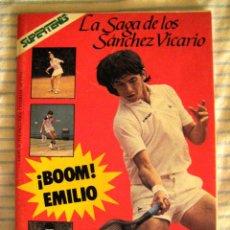 Coleccionismo deportivo: REVISTA SUPERTENIS ESPECIAL LA SAGA DE LOS SANCHEZ VICARIO - 66 PÁGINAS - AÑO 1986. Lote 44431530