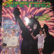 Coleccionismo deportivo: REVISTA SUPERTENIS OCTUBRE 1986 Nº 35 - LENDL NAVRATILOVA - JAVIER SANCHEZ VICARIO. Lote 44431569