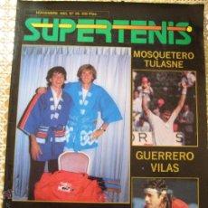 Coleccionismo deportivo: REVISTA SUPERTENIS NOVIEMBRE 1985 Nº26 CASAL SANCHEZ VICARIO GUILLERMO VILAS ATP TENIS. Lote 44435473