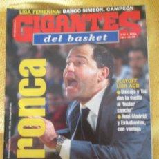 Coleccionismo deportivo: GIGANTES DEL BASKET. NO. 757 - MAYO - 2000. Lote 44470284