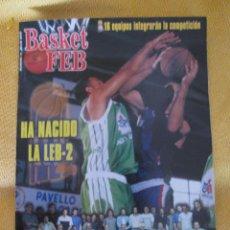 Coleccionismo deportivo: REVISTA BALONCESTO BASKET FEB 17 - JULIO - 2000. Lote 44471060