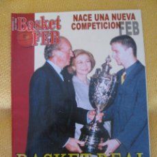 Coleccionismo deportivo: REVISTA BALONCESTO BASKET FEB 14 - ABRIL - 2000. Lote 44471147